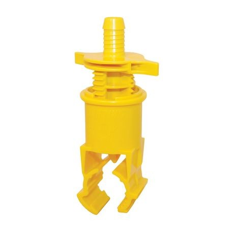 "Blazing Saddle - 3/4"" Poly X Swing Pipe Barb Saddle for Poly Pipe"