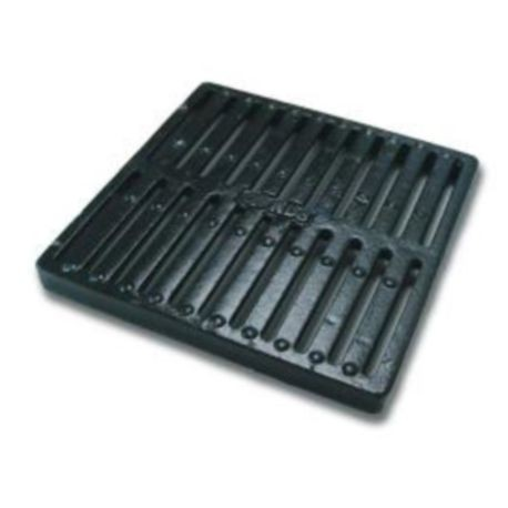 "NDS - 12"" X 12"" Cast Iron Square Grate"