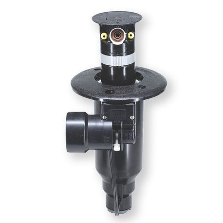 "Toro Golf - Flex800 Series Sprinkler - 1"" ACME Body Assembly, #34 Orange Nozzle 80 PSI With Spikeguard Solenoid"