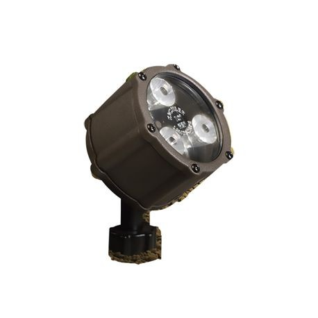 Kichler - 3 LED 4.5W 60° Accent Uplight - 3000K - Textured Architectural Bronze