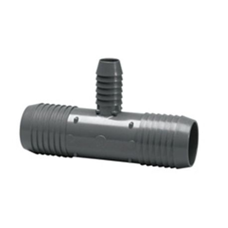 "Spears - 1-1/2"" X 1-1/2"" X 3/4"" Insert Reducing Tee - Insert X Insert X Reducing Insert"