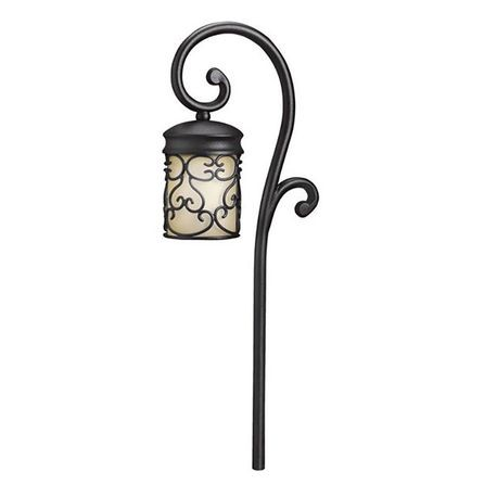 Kichler - Almeria Path Light, Black