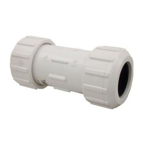 "NDS - 1-1/4"" PVC Compression Coupling"