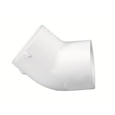 "Spears - 4"" Sch40 PVC 45° Elbow Slip X Slip"