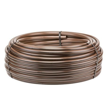 "Hunter - 100' HDL Drip Irrigation Line with Check Valve - 0.9 GPH - 12"" Spacing"