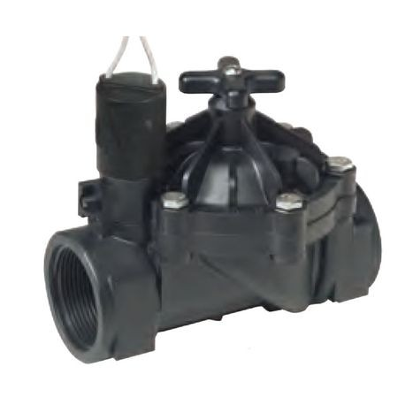 "Weathermatic - 1-1/2"" Heavy-Duty, 24VAC Plastic Valve"