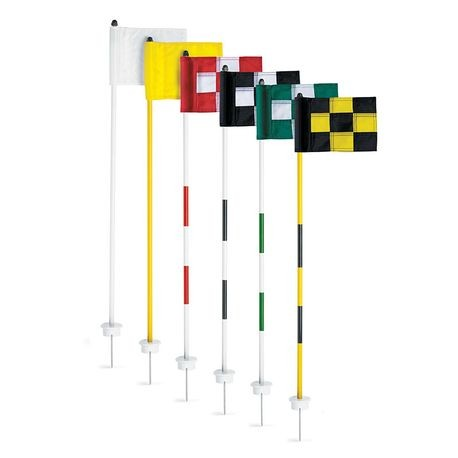 Par Aide - Cupless JR Flagstick Putting/Chipping Target - Yellow
