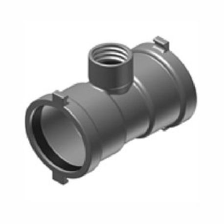 "The Harrington Corporation - 4"" Swivel Tee Ductile Iron-Ips"