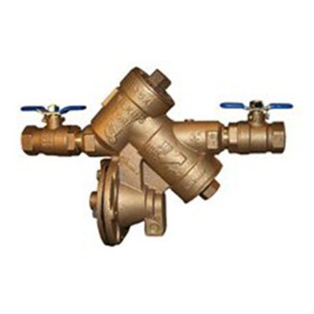 "Zurn - 1-1/4"" Reduced Pressure Principle Assembly Backflow Preventer With Valves"