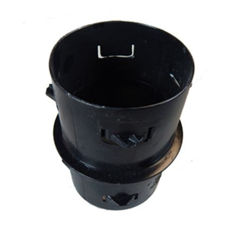 "Advanced Drainage Systems - 4"" Internal Coupler, Corrugated"