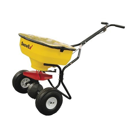 SnowEx - Walk-Behind Broadcast Spreader  - 100 LBS