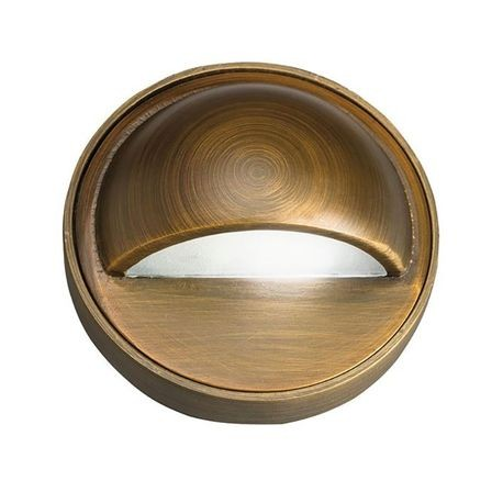 Kichler - Solid Brass Deck Light - Centennial Brass - No Lamp