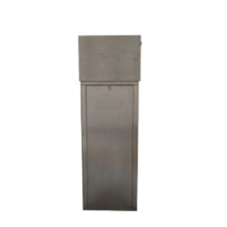 Hunter - Metal pedestal, Grey Powder-Coated For Use With I-Core and ACC Mounted Controllers