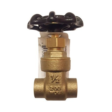 "Legend Valve & Fitting - 1/2"" Brass Gate Valve"