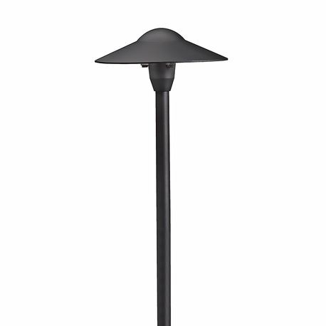 Kichler - Dome Path Light - Textured Black Finish