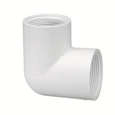 "Spears - 1/2"" Sch40 PVC 90° Elbow FPT X FPT"