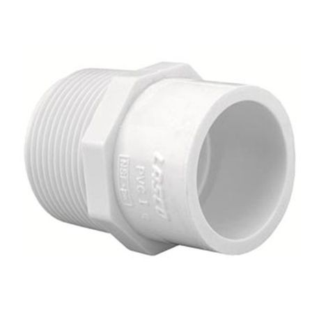 "Spears - 1"" X 3/4"" PVC Reducing Male Adapter MPT X Slip"
