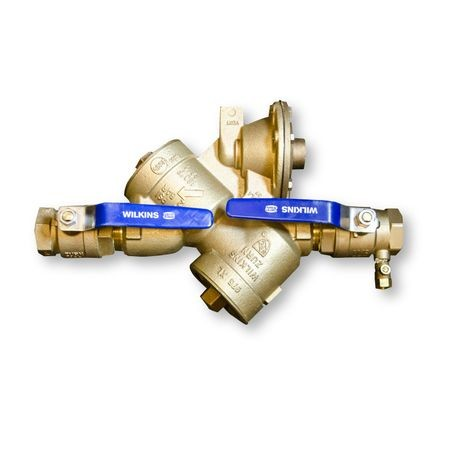 "Zurn - 1-1/2"" RPZ Backflow Preventer With Valves"