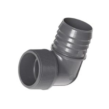 "Spears - 1-1/4"" PVC 90° Insert Elbow"