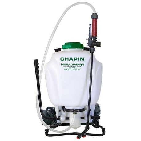 Chapin - Lawn & Landscape Backpack Sprayer with Control Flow Valve, 4 GAL