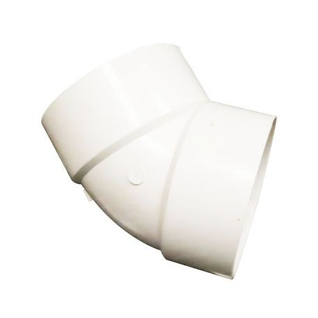 Multi Fittings 4 Quot Pvc Sewer 45 176 1 8 Bend Elbow H X H